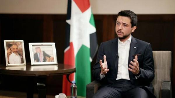 ولي العهد الأردني: القدس قضية شخصية للهاشمين وخط أحمر عند الأردنيين