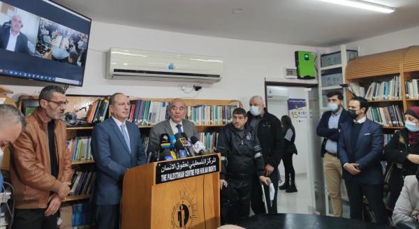 """شاهد: مراكز ومؤسسات حقوقية تعقد مؤتمراً صحفياً للحديث حول تطورات """"الجنائية الدولية"""""""