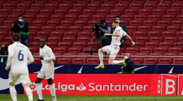 شاهد: بنزيما يشعل الدوري الإسباني بتعادل قاتل مع أتليتكو مدريد