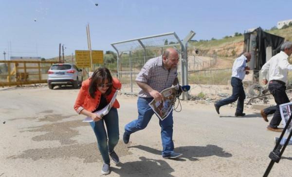 31 انتهاكًا إسرائيليًا ضد الإعلاميات الفلسطينيات خلال 2020