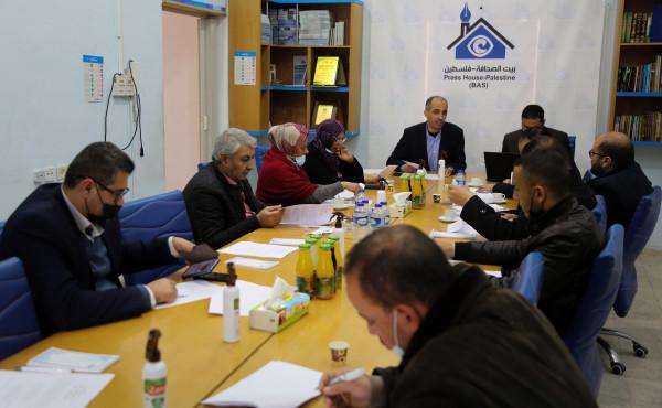 بيت الصحافة يعقد لقاءً خاصًا لمناقشة ميثاق الشرف الصحفي لتغطية الانتخابات