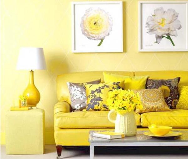 شاهد: جمال اللون الأصفر في الديكور الداخلي