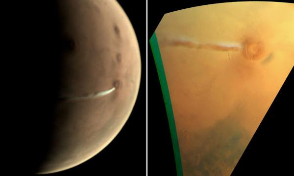 شاهد: نشاط غريب يحدث بشكل يومي على المريخ حير العلماء