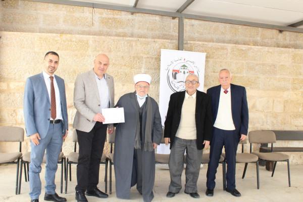 بنك القدس يدعم مدارس ورياض الأقصى الإسلامية