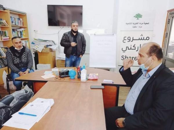 بالتعاون مع دائرة سلفيت.. جمعية مردا للتنمية تعقد ورشة عمل عن الانتخابات