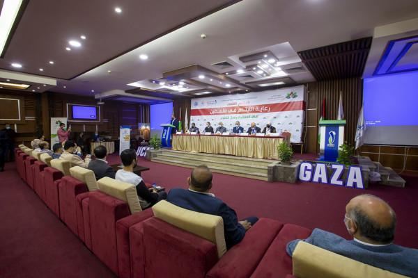 انطلاق أعمال المؤتمر العلمي حول رعاية الأيتام بفلسطين بالكلية الجامعية للعلوم التطبيقية