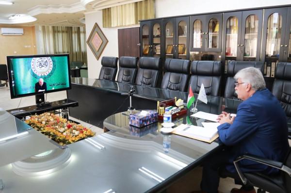 رئيس الجامعة يشارك باجتماع المجلس التنفيذي الخامس والمؤتمر العام لاتحاد الجامعات العربي