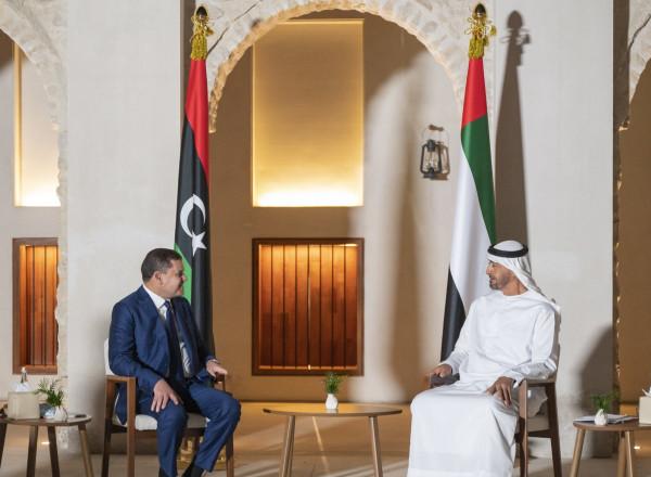 الإمارات تؤكد دعمها للسلطات الجديدة في ليبيا