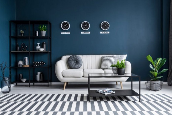 شاهدي: كيف يصبح اشتقاق لون من الأزرق والأخضر في ديكورات المنزل