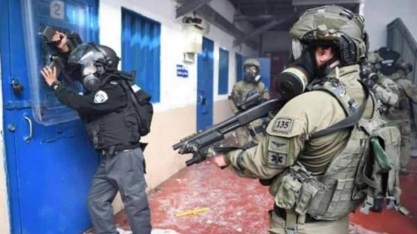 قوات الاحتلال تعتدي على مجموعة من الأسرى بسجن (ريمون)