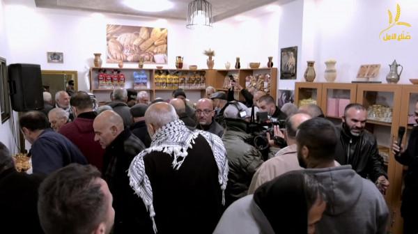 """حملة """"صناع الأمل"""" تتوج مبادرة ترميم المخبز بحفل افتتاح ضخم"""