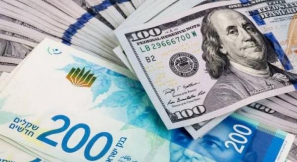 طالع سعر صرف الدولار مقابل الشيكل
