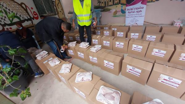 قلقيلية: جمعية الإنقاذ الخيرية للتنمية توزع طروداً غذائية للأسر المحتاجة
