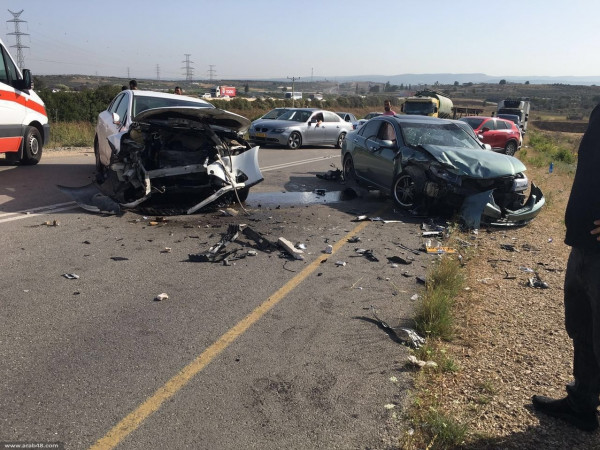 """""""المرور"""" بغزة: ثلاث إصابات في ثلاثة حوادث سير خلال 24 ساعة بالقطاع"""