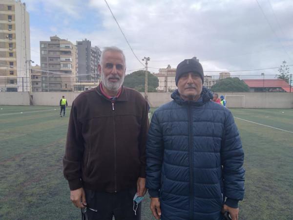 المؤسسة الفلسطينية للشباب والرياضة في لبنان تكرم اللاعب الدولي الفلسطيني وسيم عبد الهادي
