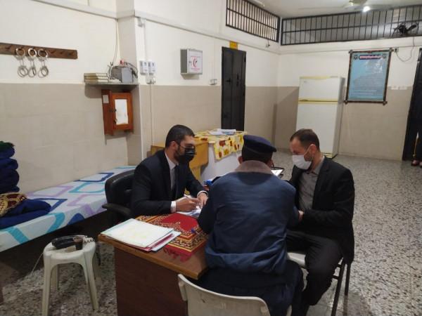 نيابة الشمال تجري جولة تفتيشية على مراكز الاصلاح والتأهيل في محافظة شمال غزة
