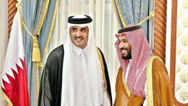 بعد بالسيسي.. تميم بن حمد يهاتف محمد بن سلمان