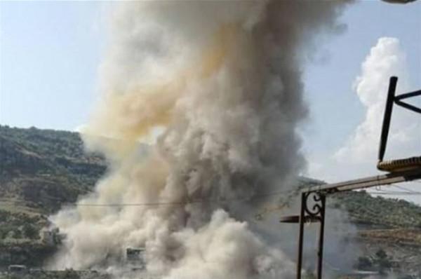 إصابة ستة أطفال بانفجار جسم غريب أثناء لعبهم في ريف حماة بسوريا