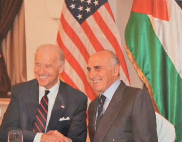 منيب المصري يدعو أمريكا لدعم الخيار الديمقراطي الفلسطيني