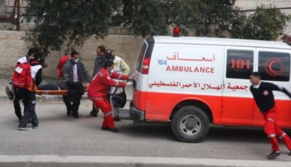 إصابة سبعة مواطنين بحادث سير في جنين