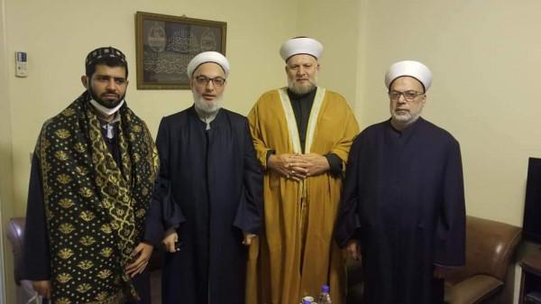 علماء فلسطين يستقبل وفدا من جمعية المشاريع الخيرية مهنئا بقدوم شهر رمضان