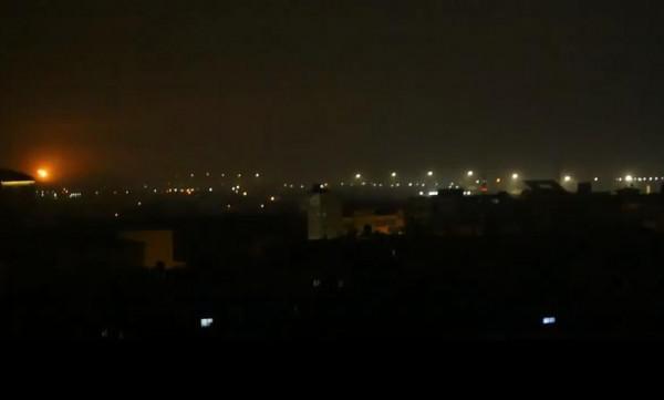 شاهد: لحظة استهداف طائرات الاحتلال موقع للمقاومة غربي رفح