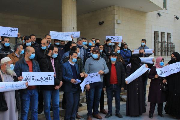غزة: مسؤول بوزارة التربية يتحدث عن أزمة موظفي العقود بجامعة الأقصى