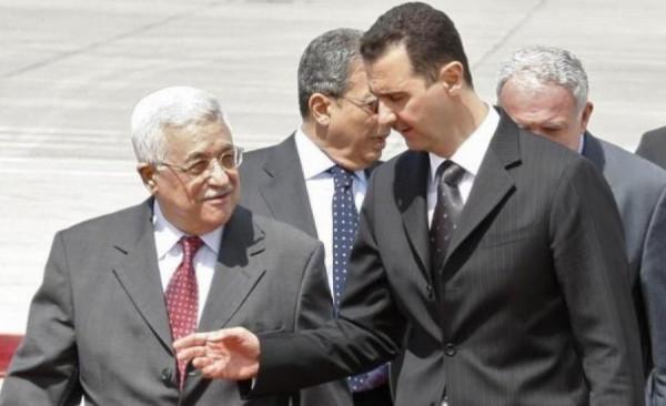 الرئيس عباس يهنئ نظيره السوري بعيد الجلاء