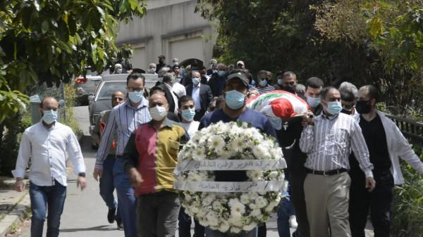 تشييع المناضل الراحل أحمد سليم جرادي إلى مثواه الأخير