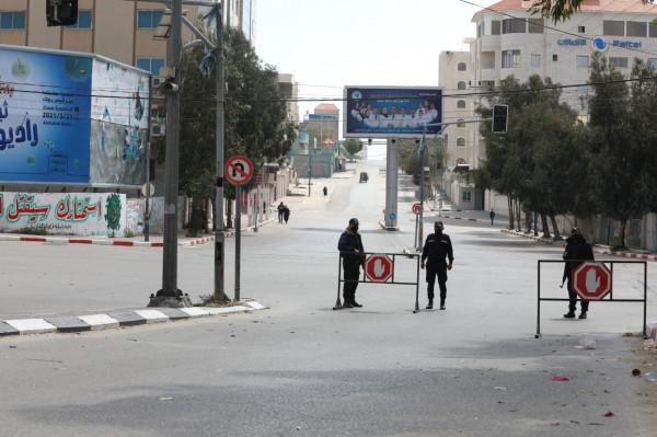 """""""الداخلية"""" بغزة تعلن إجراءات جديدة لمواجهة تفشي فيروس (كورونا) بالقطاع"""