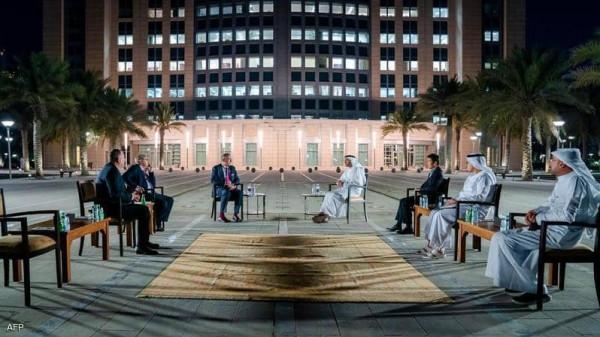 عبدالله بن زايد يستقبل المبعوث الإسرائيلي لدول الخليج العربي
