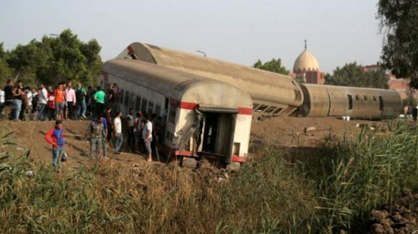 النيابة العامة المصرية تأمر بحبس 23 متهما في حادث قطار طوخ