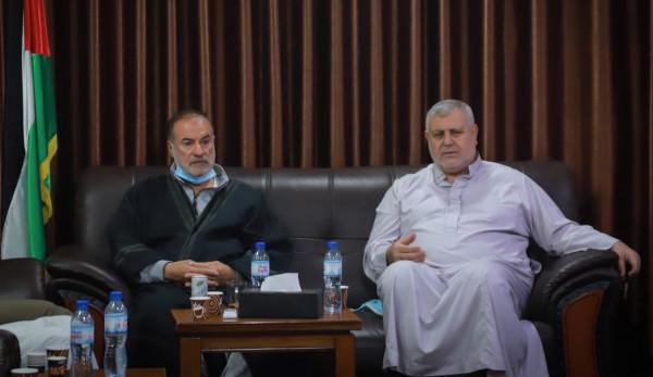 """""""تعزيز خيار المقاومة"""".. تفاصيل اجتماع بين حركتي حماس والجهاد شمال القطاع"""