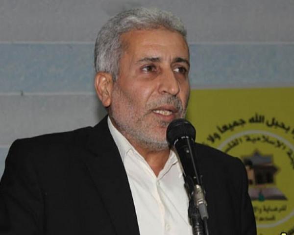 عضو قيادة الساحة في حركه الجهاد الاسلامي يجري سلسلة اتصالات لمصلحة مخيم الرشيدية