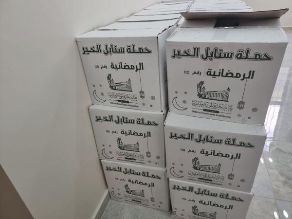 مكتب تنمية البلدة القديمة يستهدف الأسر الفقيرة بنحو 210 طردا غذائيا