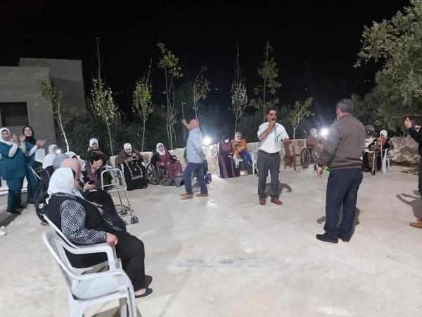 ثقافة طولكرم: أمسية رمضانية زجلية في جمعية دار الكوثر لرعاية المسنين  في عنبتا