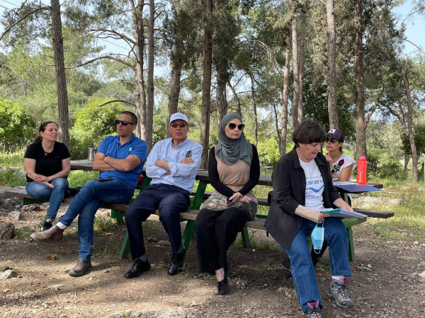 لقاء يجمع مياه الجليل بسلطة تصريف مياه الامطار في الجليل الغربي والمنظمات البيئية