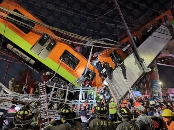 كارثة في المكسيك.. عشرات القتلى والجرحى جراء انهيار جسر