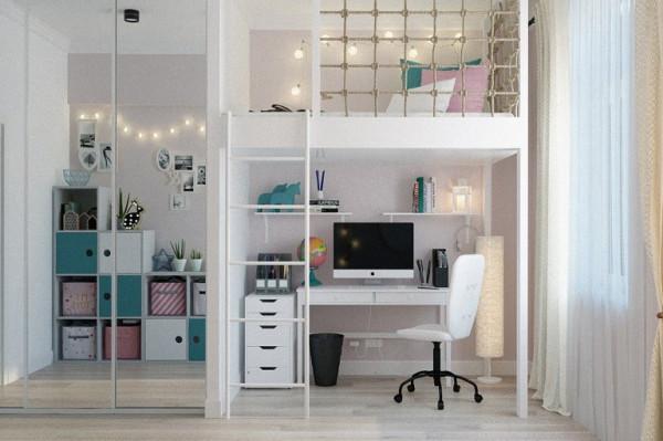 كيف تجعلي غرفتك الصغيرة ذات مساحة واسعة ؟