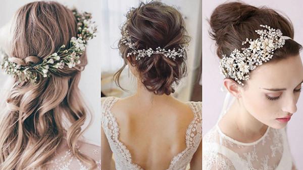 شاهدي: أجمل اكسسوارات شعر عروس 2021
