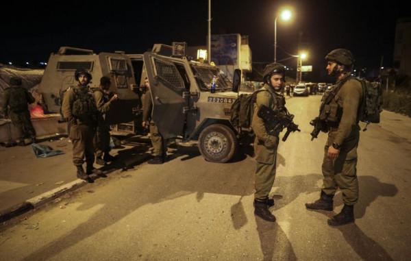 نابلس الاحتلال يواصل عمليات الدهم والتحقيق الميداني في عقربا