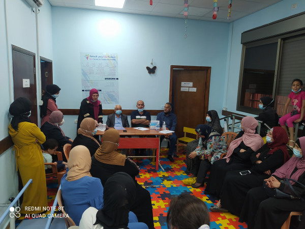 تنمية بيت لحم تشرف على انتخابات جمعية نور لذوي الإعاقة بمخيم عايدة