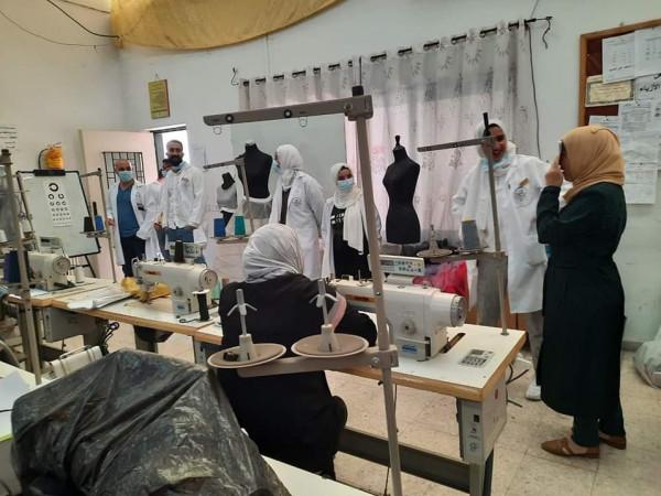 تأهيل فتيات نابلس ينفذ زيارة لقسم التصوير والشيخ خليفة ينظم يوماً طبياً لطلبته