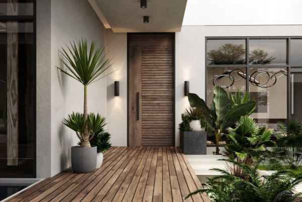 إليك أحدث ديكور للأبواب الداخلية المنزلية