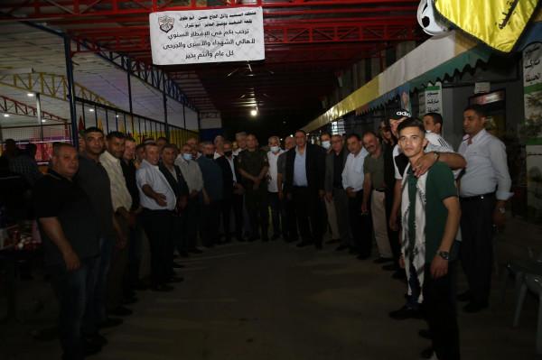 """قلقيلية: منطقة الشهيد وائل الحاج حسن """" ابو طوق"""" تنظم إفطارا رمضانياّ"""