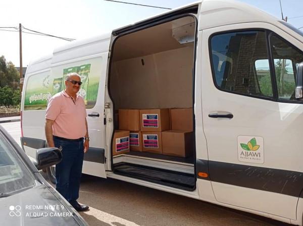 تنمية طوباس وقلقيلية وبتبرع من قطر الخيرية يستهدفان الأسر الفقيرة والمهمشة بطرود غذائية