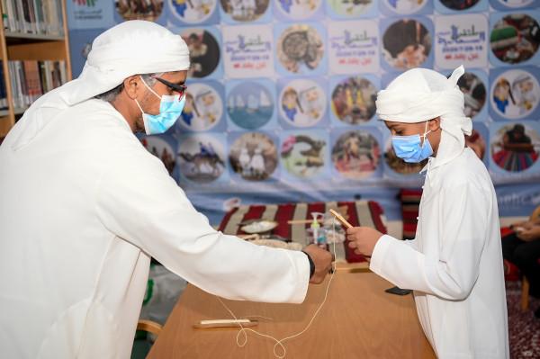 مركز أبوظبي الشبابي التابع لنادي تراث الإمارات يختتم فعالياته الرمضانية