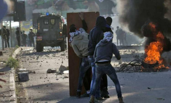 إصابات بالاختناق خلال قمع الاحتلال فعالية على جبل صبيح جنوب نابلس