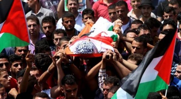 الاحتلال يسلم جثمان الشهيدة رحاب الحروب من قرية وادي فوكين ببيت لحم