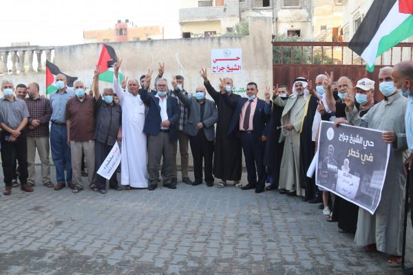 بلدية النصيرات تطلق اسم حي الشيخ جراح على أحد أحيائها الرئيسية